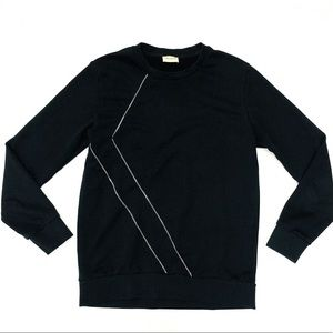 auth SAINT LAURENT/YSL sizeLARGE zipper sweatshirt